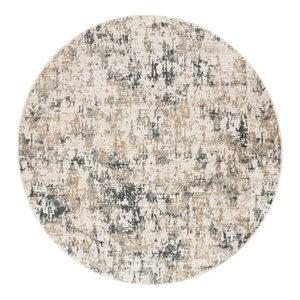فرش پذیرایی سفید خاکستری تیره