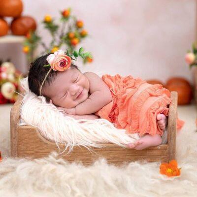 دکوراسیون اتاق خواب دخترانه نوزاد 1