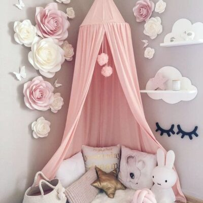 دکوراسیون اتاق خواب دخترانه کودک