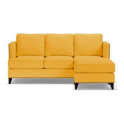 کاناپه راحتی ال زرد