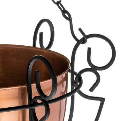 گلدان آویزان مسی-2